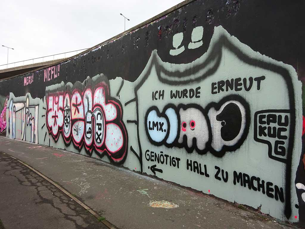 Hall of Fame am Ratswegkreisel in Frankfurt am Main