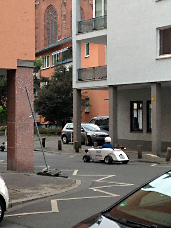 Hotrod in Frankfurt