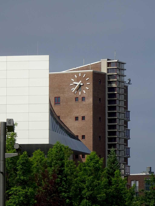 Integrierter und modernisierter Großmarkthallenbau beim EZB-Neubau