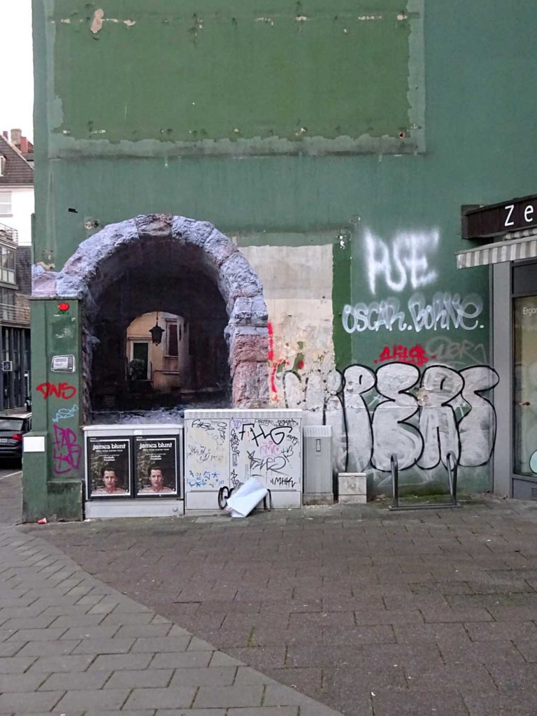 Italian Gateways - Plakat Art von Sbagliato in Frankfurt