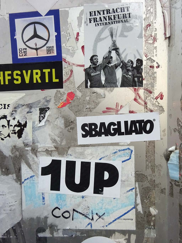 Italian Gateways - Urban Art von Sbagliato in Frankfurt