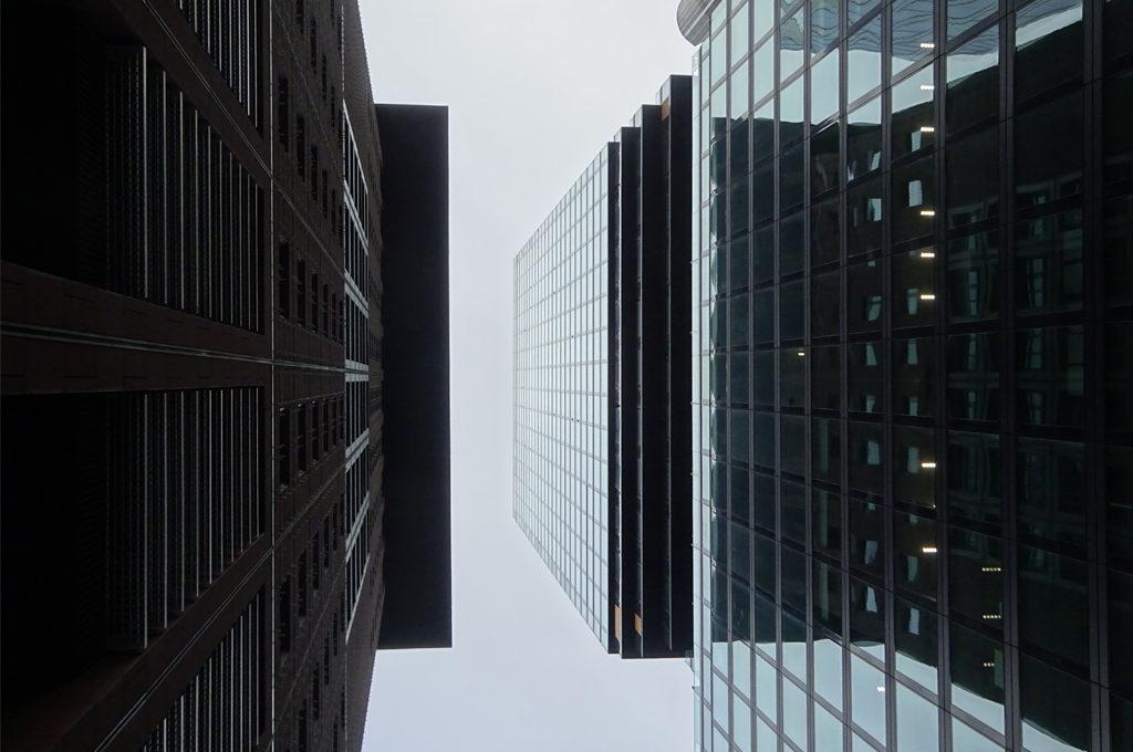 Japan Center und Omniturm in Frankfurt