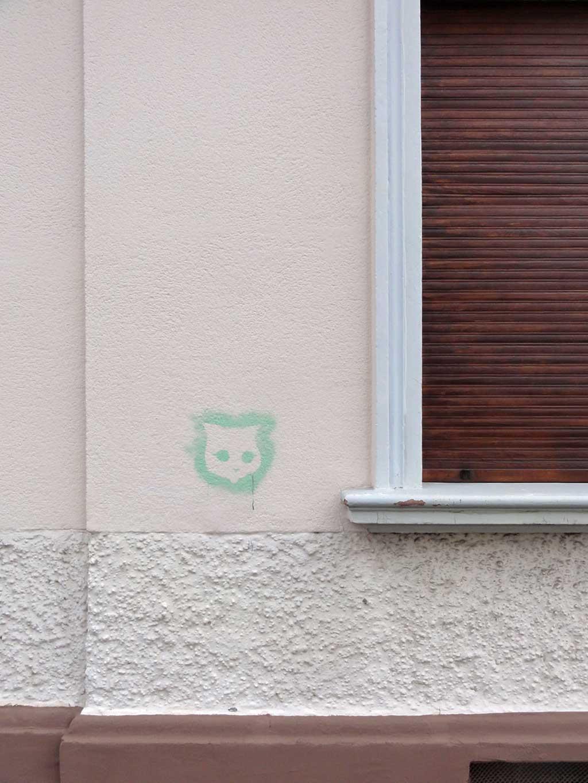 Streetart Cat Stencil