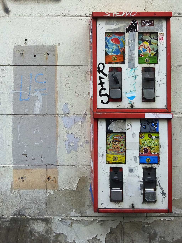 Kaugummiautomaten in Frankfurt am Main