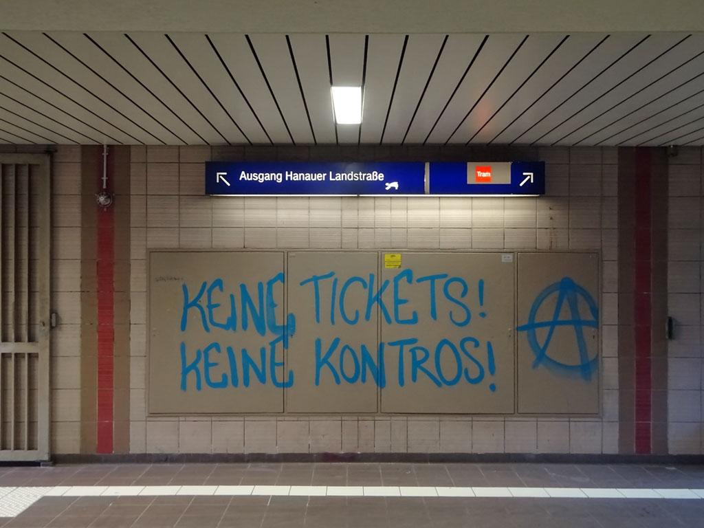 Keine Tickets Keine Kontros