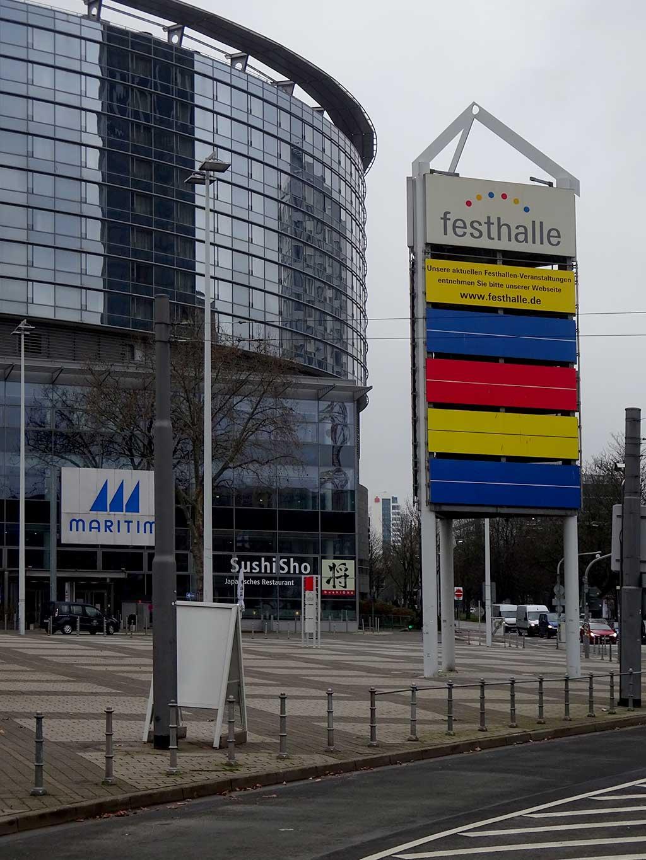 Keine Veranstaltungen in der Festahlle Frankfurt