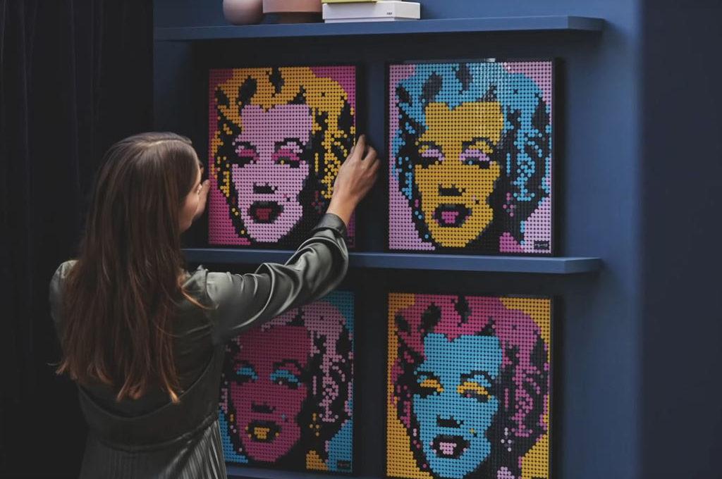 LEGO Art: Andy Warhol - Marilyn Monroe