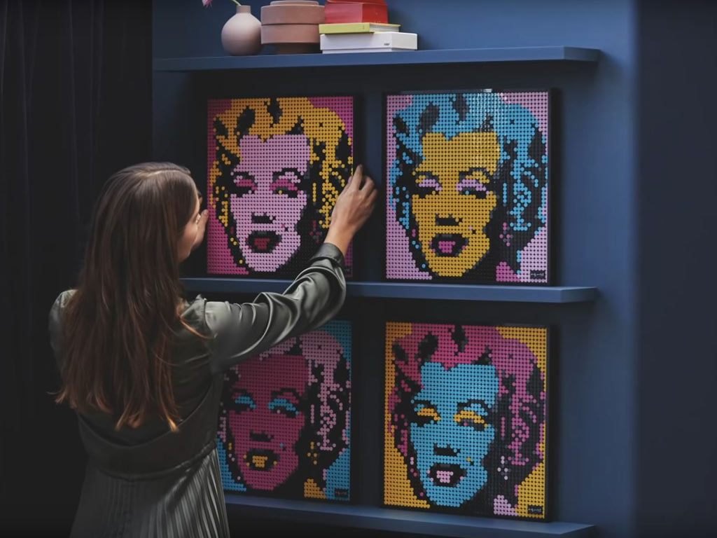 LEGO Art: Andy Warhol - Marilyn Monroe