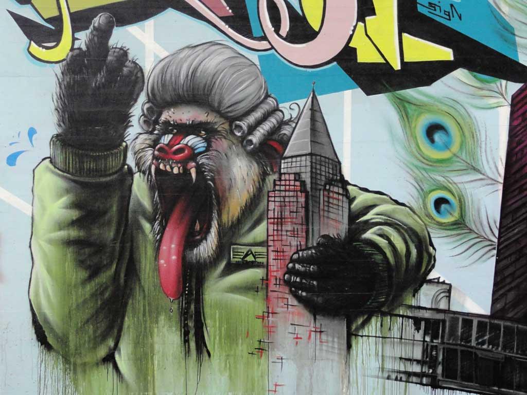 Living Walls - Graffitiprojekt in Offenbach