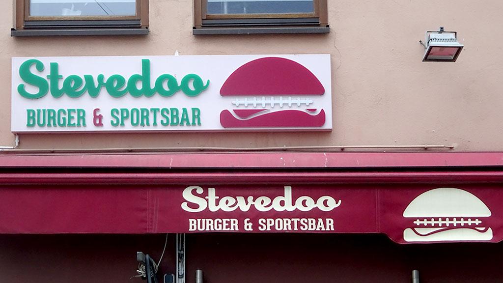 Typografie, Schilder und Logos in Frankfurt - Stevedoo
