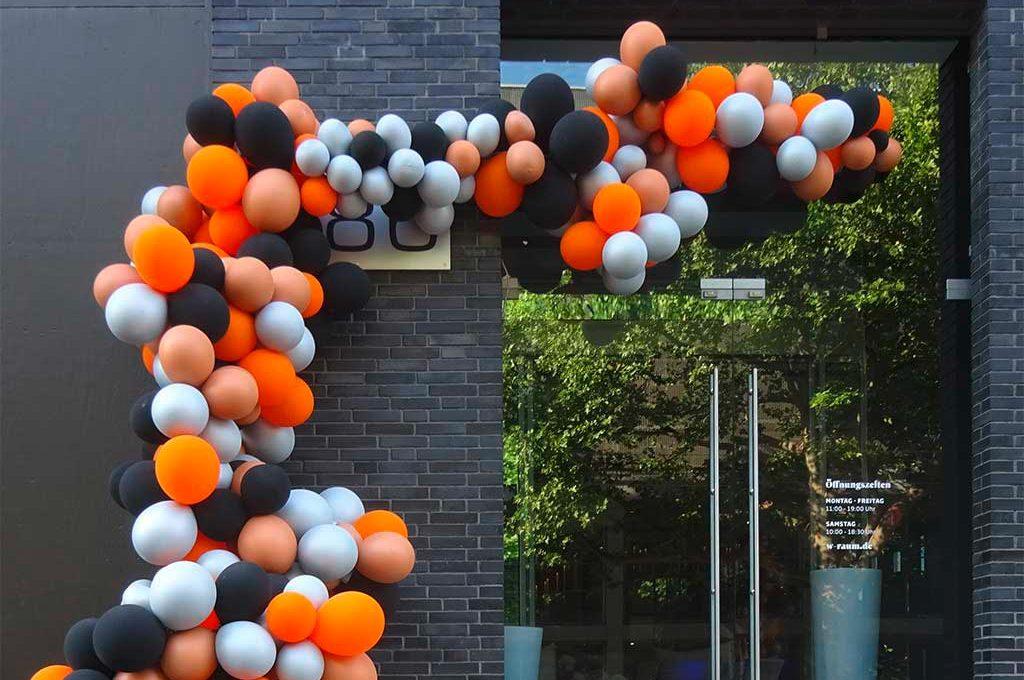 Luftballons, Ballonbögen und Ballongirlanden