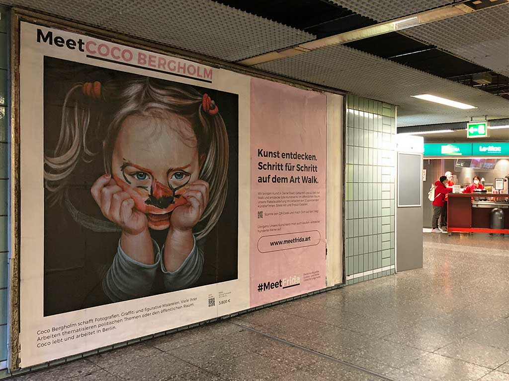 Meet Coco Bergholm - Kunst entdecken in Frankfurt