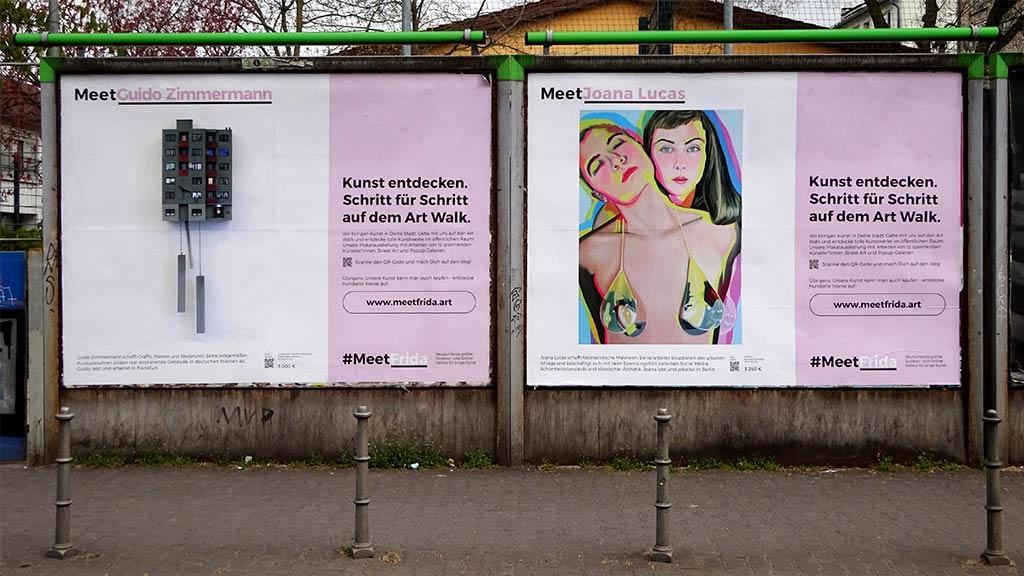 Meet Guido Zimmermann und Joana Lucas - Kunst entdecken in Frankfurt