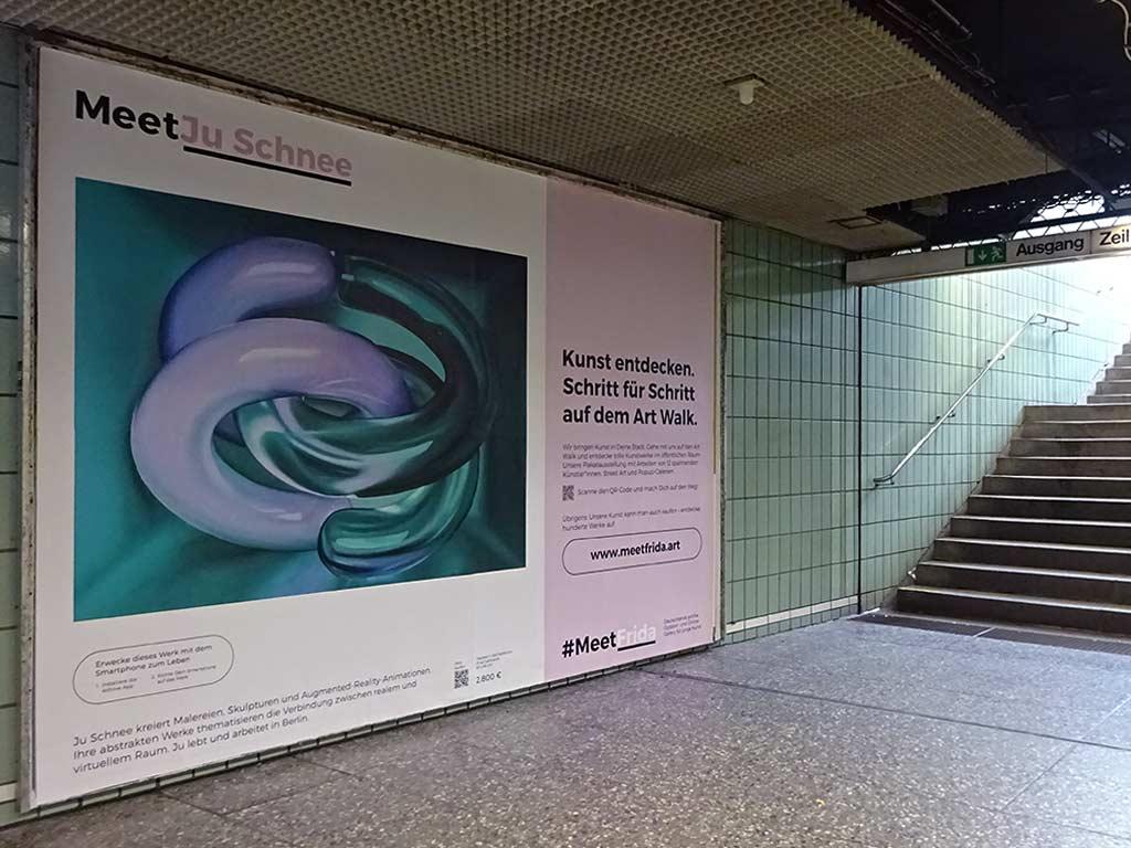Meet Ju Schnee - Kunst entdecken in Frankfurt