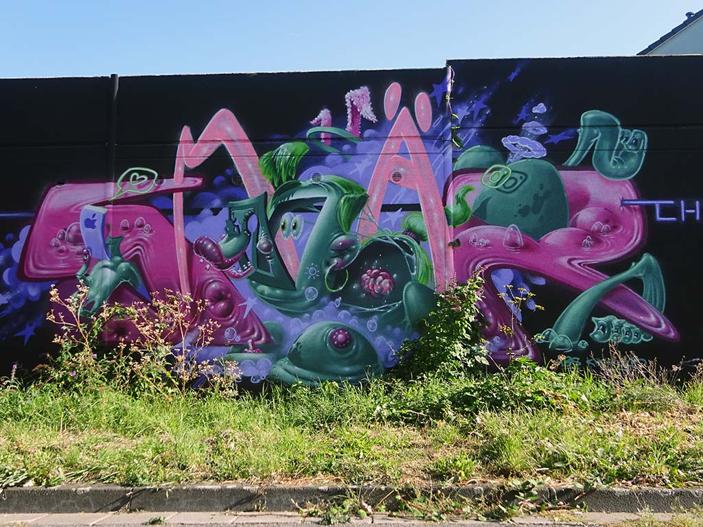 Meeting of Styles 2019 in der Müfflingstraße in Wiesbaden