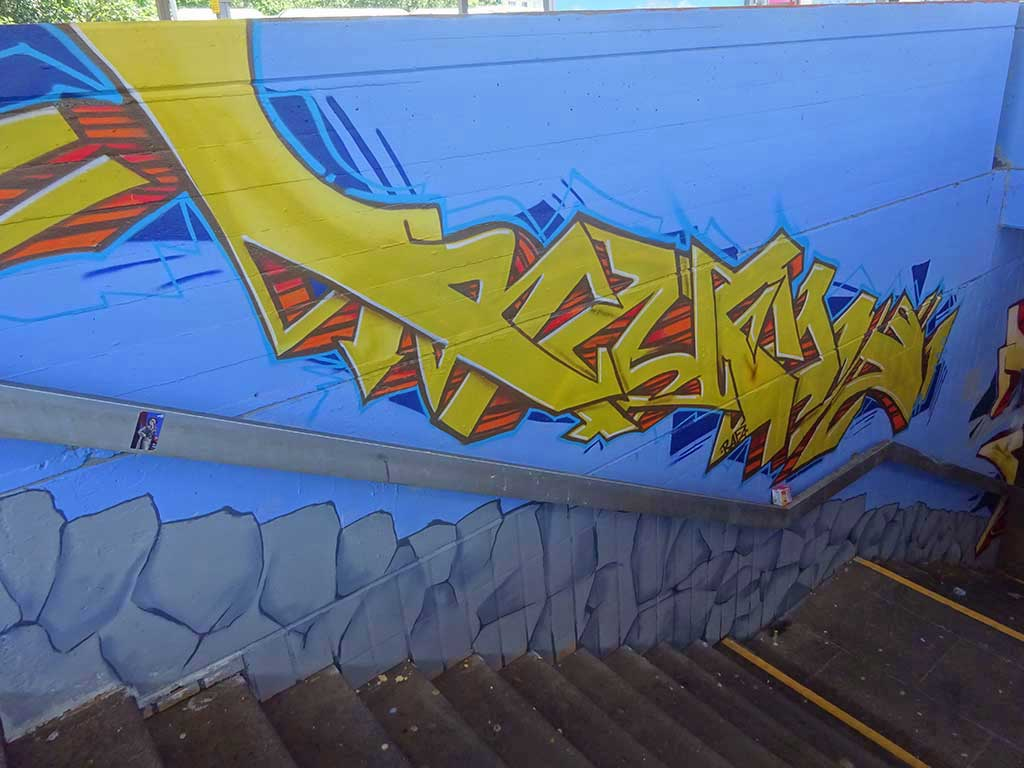 Meeting of Styles 2019 in Wiesbaden - Castellum am BHF Mainz-Kastel