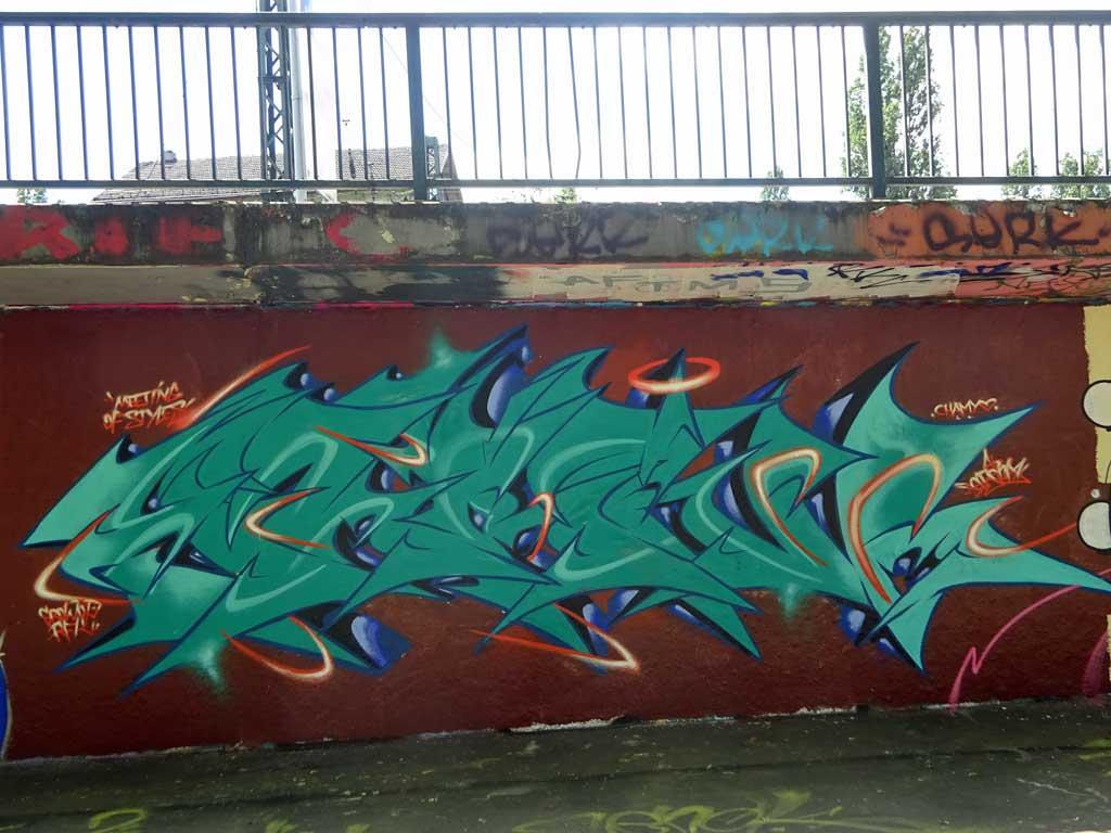 Graffiti in Wiesbaden - Meeting of Styles 2019