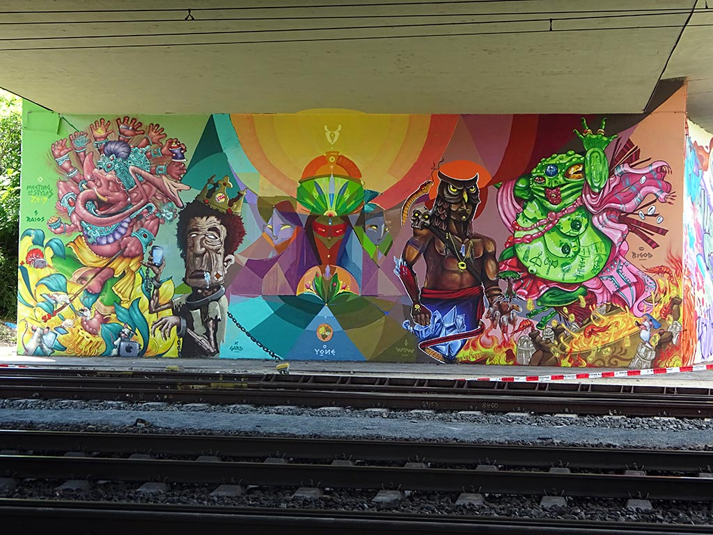 Meeting of Styles 2019 in Wiesbaden - Graffiti by artists from Brasil