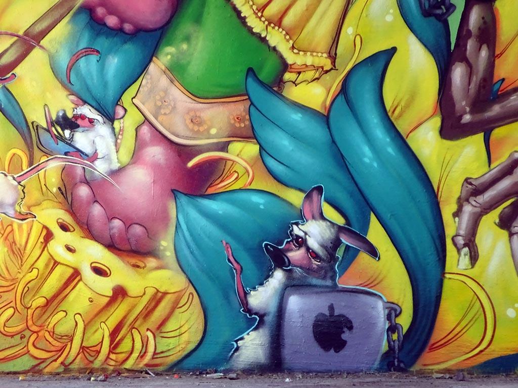 Meeting of Styles 2019 in Wiesbaden - Graffiti by artists from Brasil
