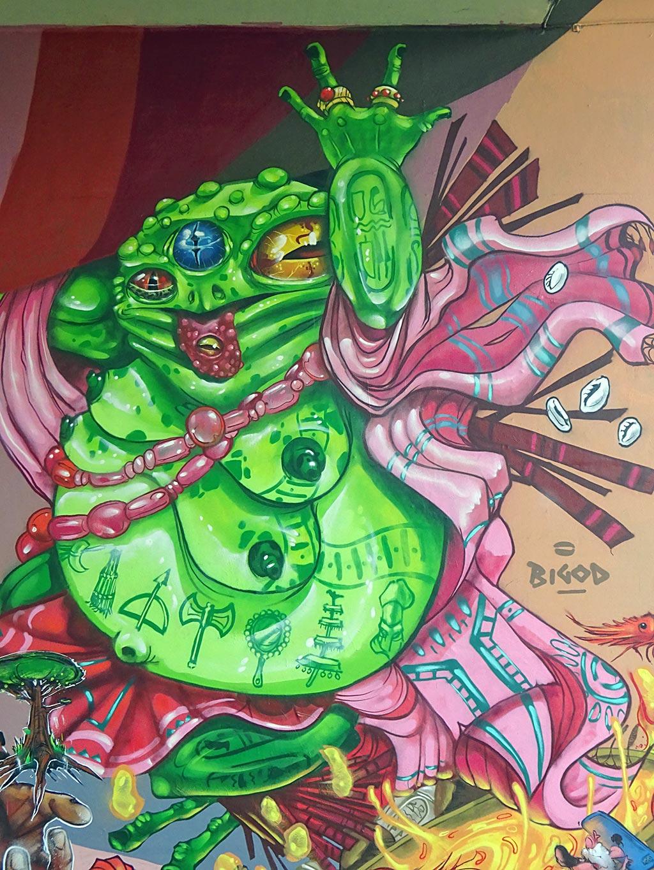 Meeting of Styles 2019 in Wiesbaden - Graffiti by Bigod