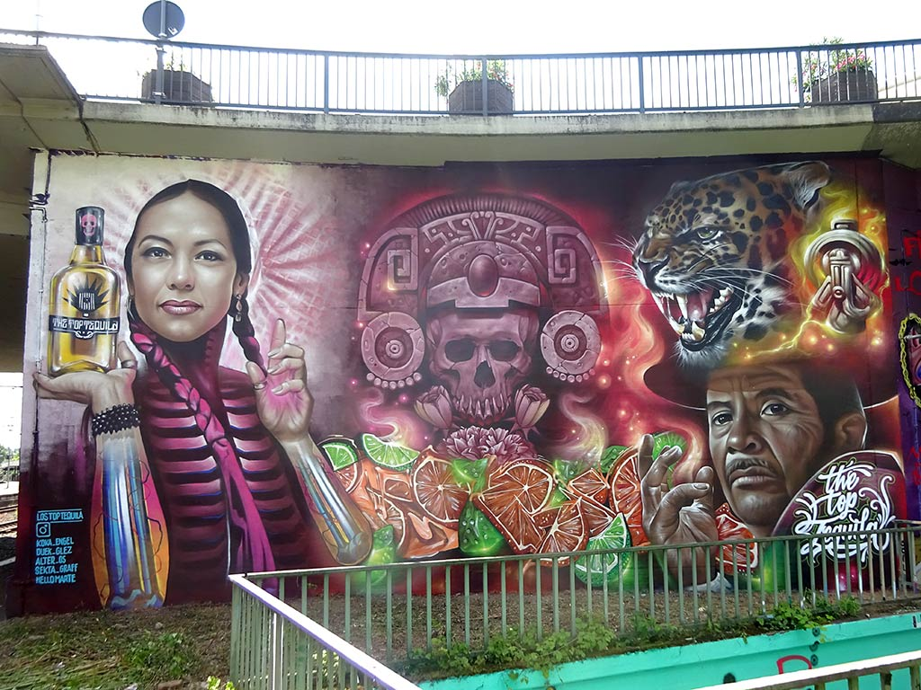 Meeting of Styles 2019 Wiesbaden - The Top Tequila Mural