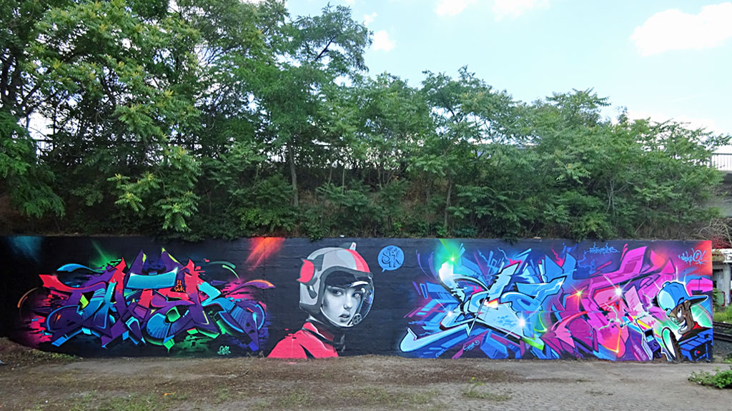 Meeting of Styles Wiesbaden 2019 - Dater 127, SPK und Can Two
