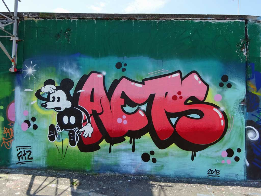 Mickey Mouse Streetart