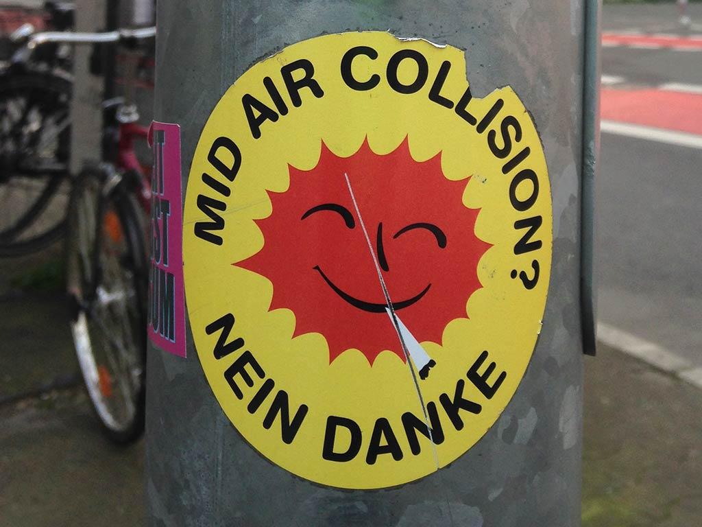 Mid Air Collision? Nein Danke