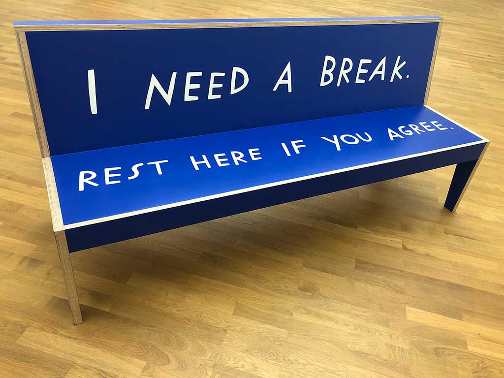 MMK Frankfurt - Crip Time - Shannon Finnegan - Do you want us here or not