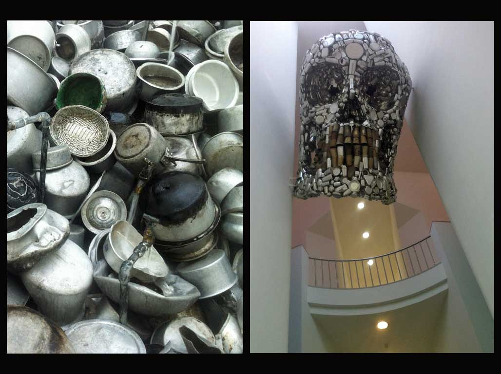 MMK Frankfurt: Subodh Gupta. Everything is inside