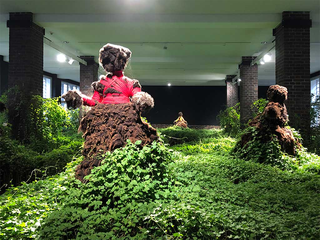 Ausstellung im MMK Zollamt - Precious Okoyomon - Earthseed