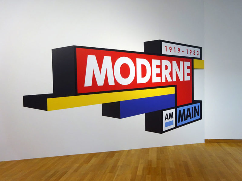 Moderne am Main