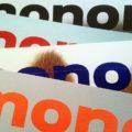 Vier Ausgaben des Monopol Magazins