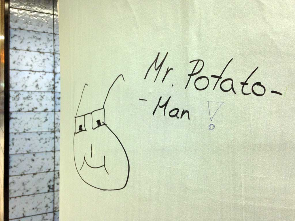 Mr. Potato-Man