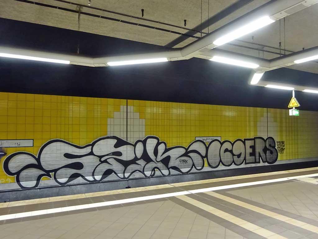 Wandkunst in Frankfurt-Mühleberg
