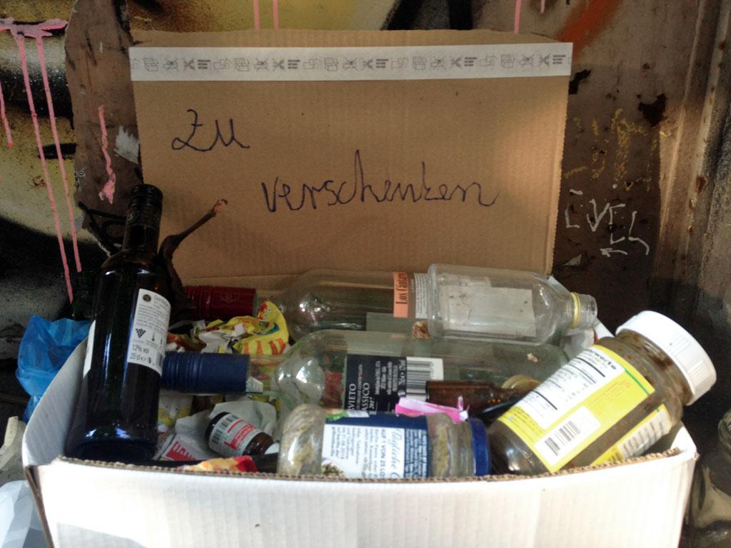 Müll zu verschenken