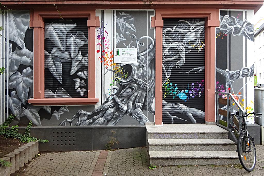 Murat Art in Frankfurt von Honsar