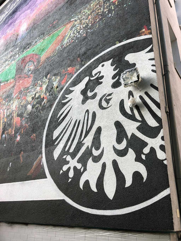 Mural in Frankfurt am Main - Für immer Waldstadion