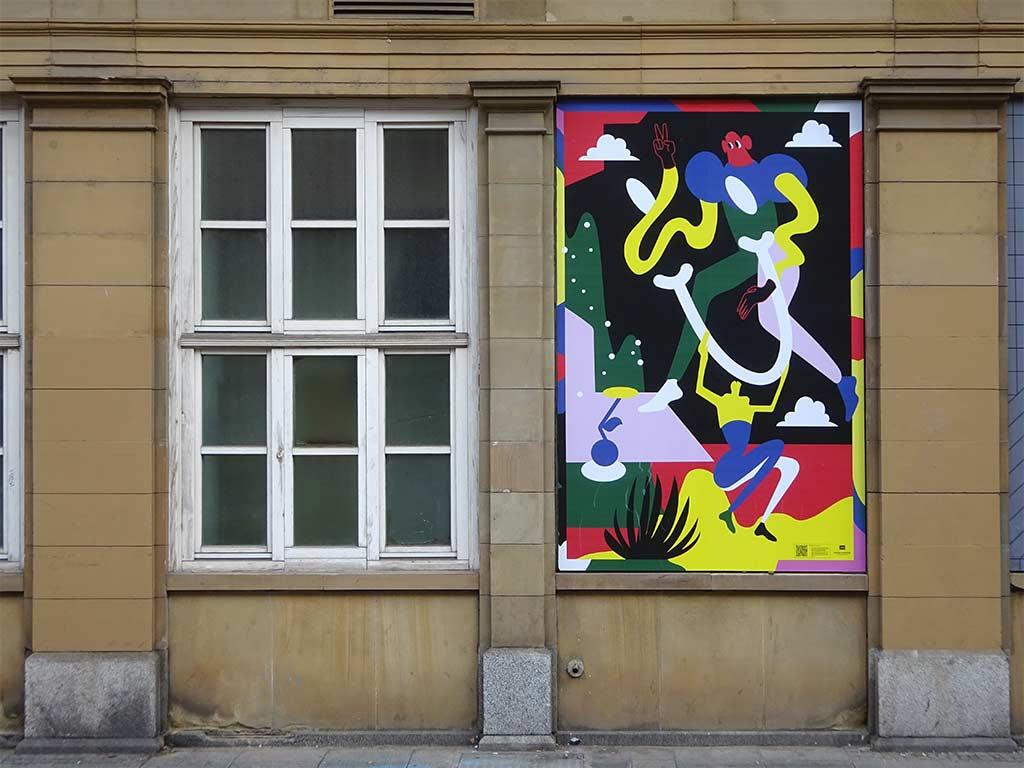 Nadine Kolodziey - Poster in Frankfurt