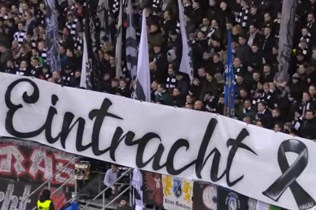 """""""Nazis raus!""""-Rufe bei EIntracht Frankfurt"""