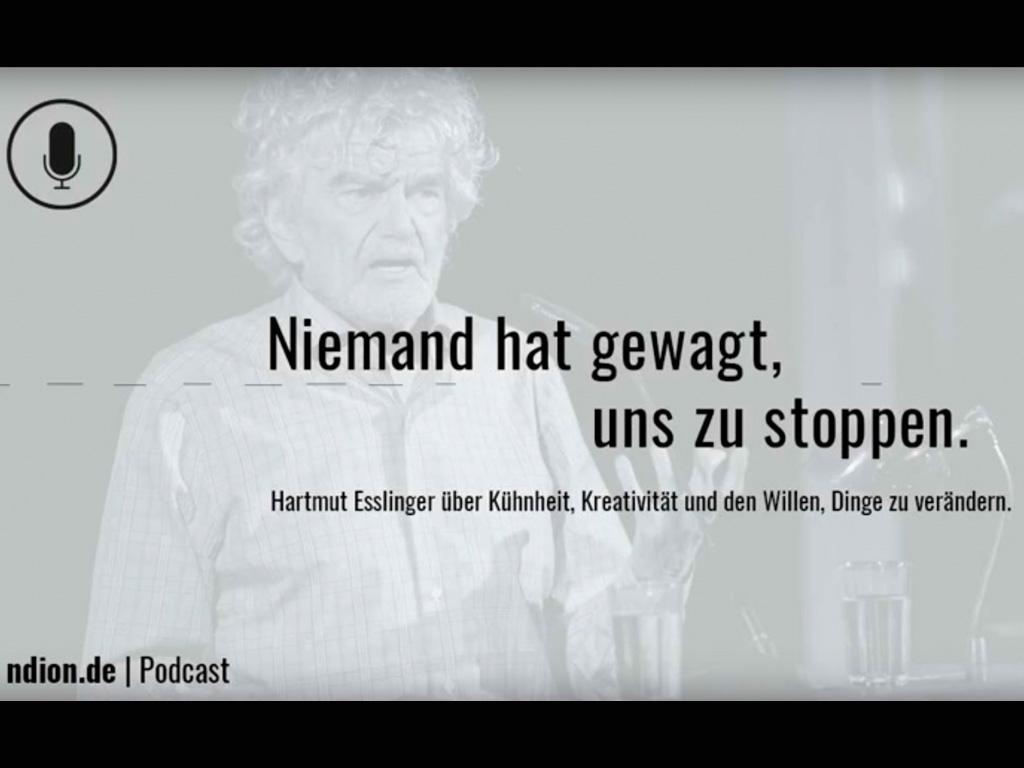 ndion-Podcast mit Hartmut Esslinger