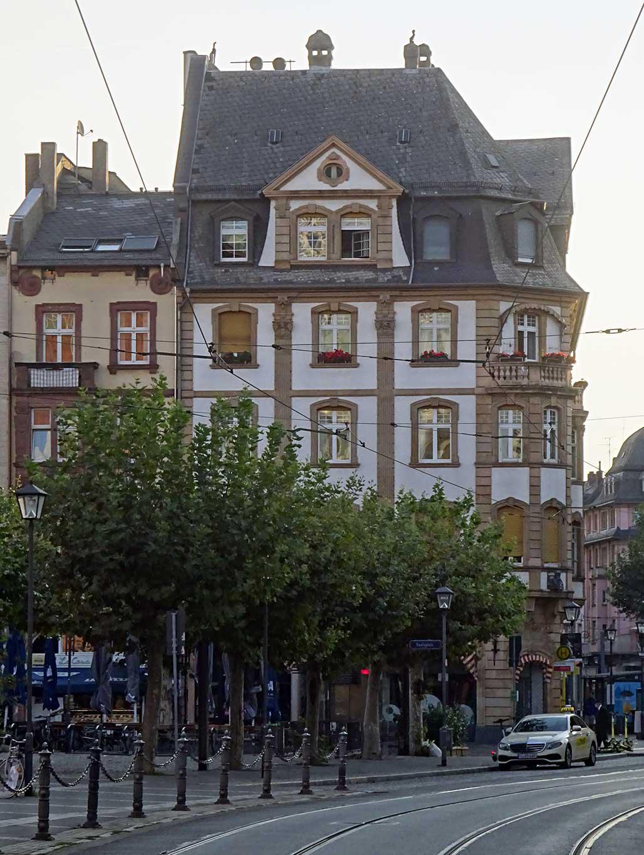 Neobarock - Haus von 1906 in der Braubachstraße