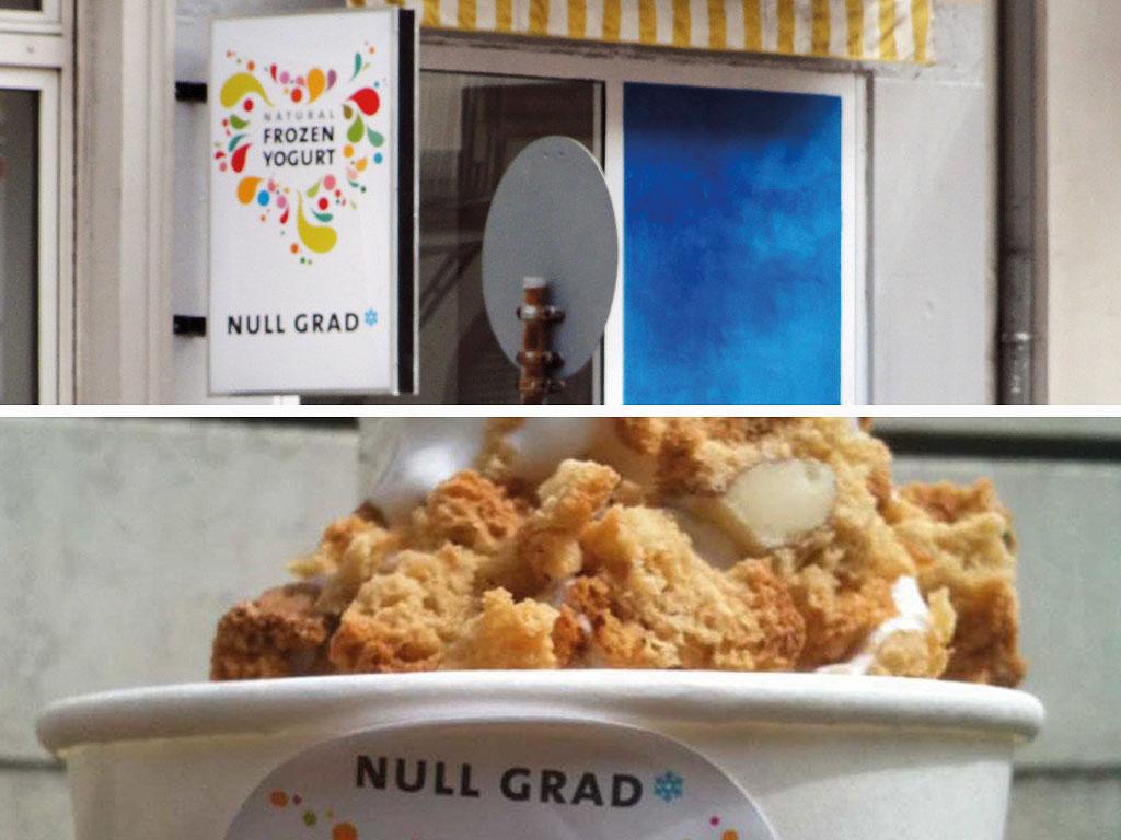 Null Grad Frozen Yogurt in Frankfurt Bornheim