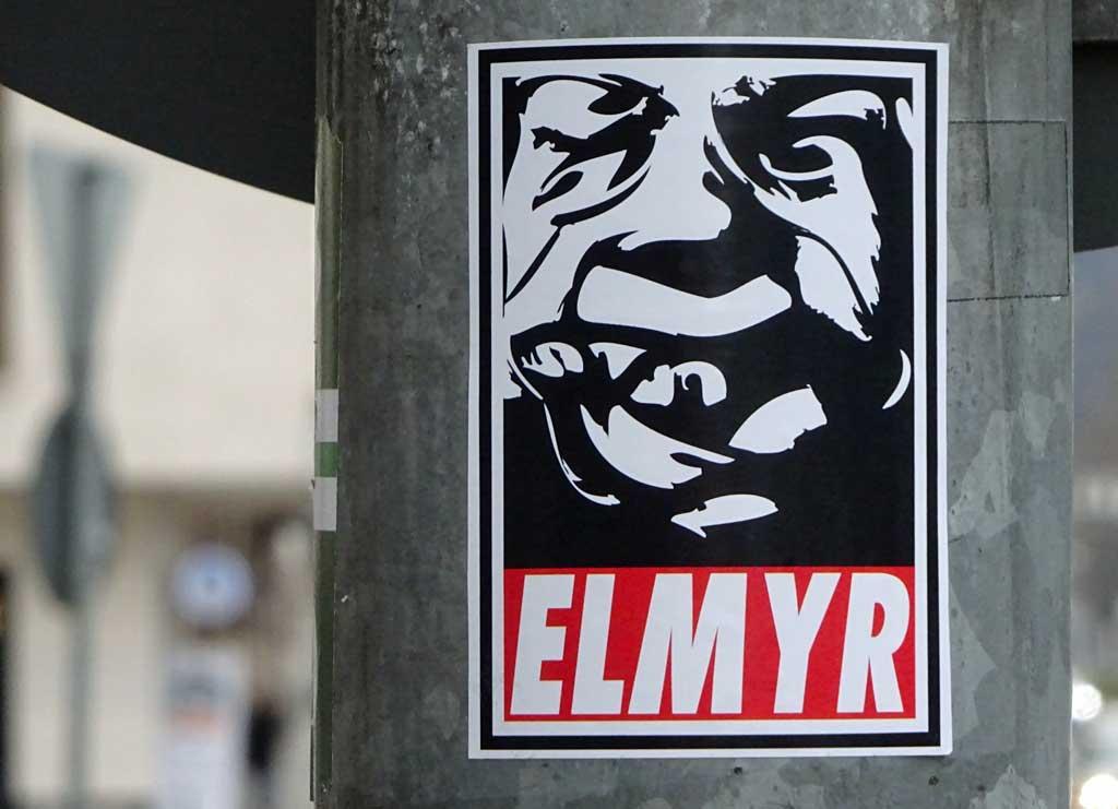 OBEY-Logo-Variante mit ELMYR
