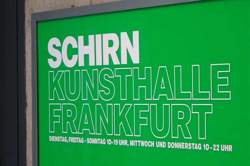Die Öffnungszeiten der Schirn Kunsthalle Frankfurt