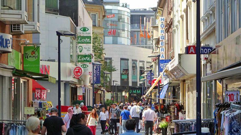 Geleitstraße in Offenbach