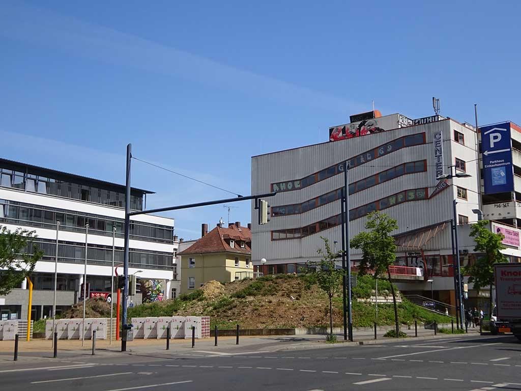 Offenbach-Schriftzug nicht mehr am Feldherrnhügel