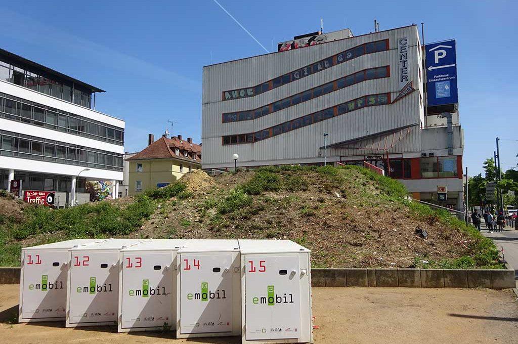 Offenbach-Schriftzug nicht mehr in der Berliner Straße