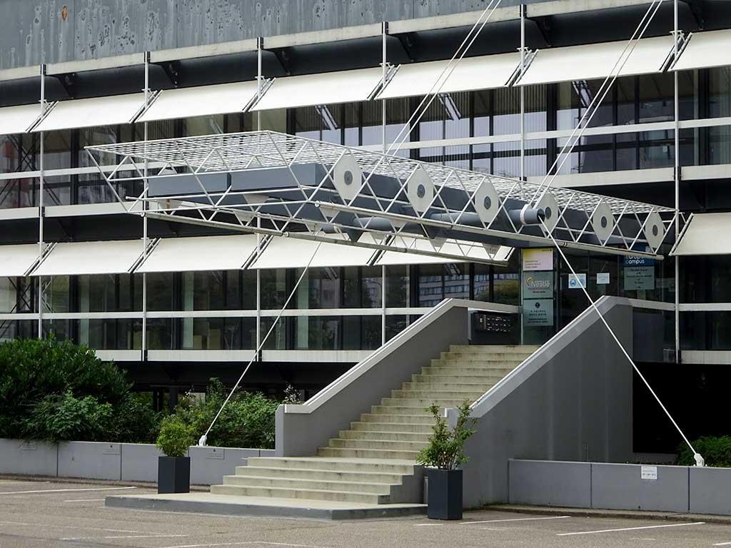 Olivett-Türme - Architektur von Egon Eiermann in Frankfurt
