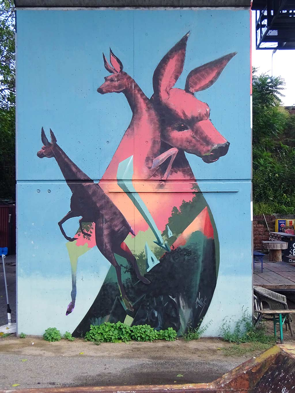 Orange Beach Mural Art